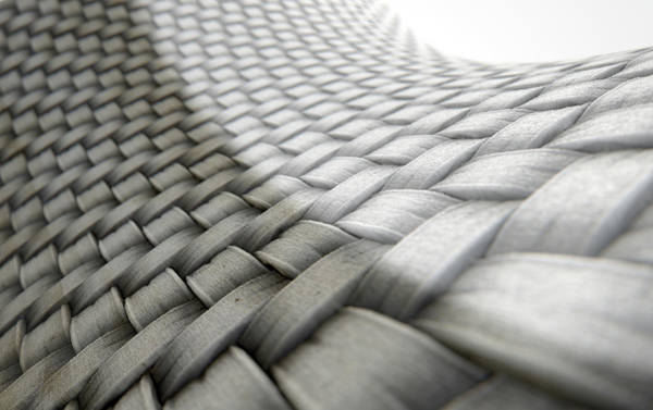 Cloth Digital Art - Micro Fabric Weave Comparison by Allan Swart