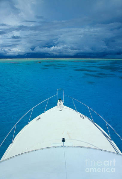 Expanse Photograph - Micronesia, Boat Bow by Rick Gaffney - Printscapes