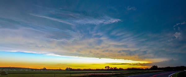 Photograph - Mid August Nebraska Thunderstorms 003 by NebraskaSC