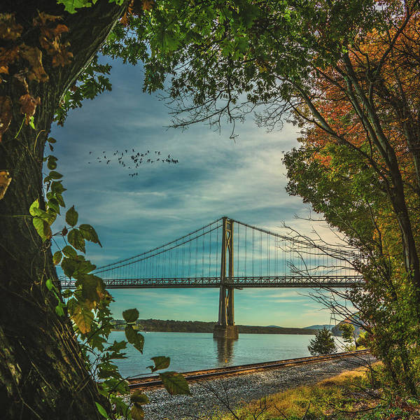Photograph - Mid Hudson Bridge by Chris Lord