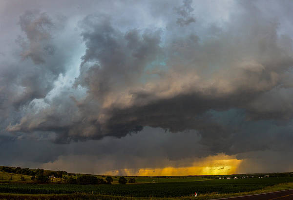 Photograph - Mid July Nebraska Thunderstorms 011 by NebraskaSC