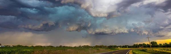 Photograph - Mid July Nebraska Thunderstorms 015 by NebraskaSC