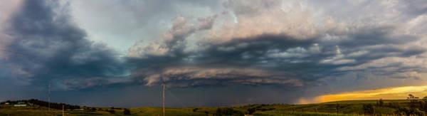 Photograph - Mid July Nebraska Thunderstorms 016 by NebraskaSC