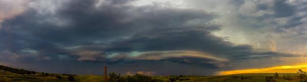 Photograph - Mid July Nebraska Thunderstorms 020 by NebraskaSC