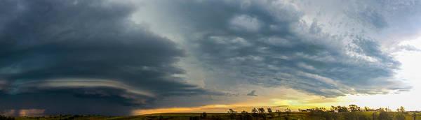 Photograph - Mid July Nebraska Thunderstorms 028 by NebraskaSC