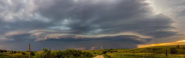 Photograph - Mid July Nebraska Thunderstorms 032 by NebraskaSC