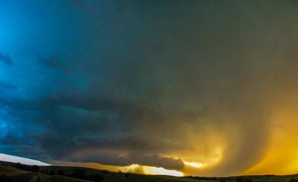 Photograph - Mid July Nebraska Thunderstorms 050 by NebraskaSC