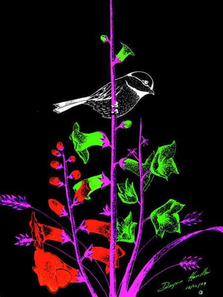 Nectar Mixed Media - Mid Night Feed by Dwayne Hamilton