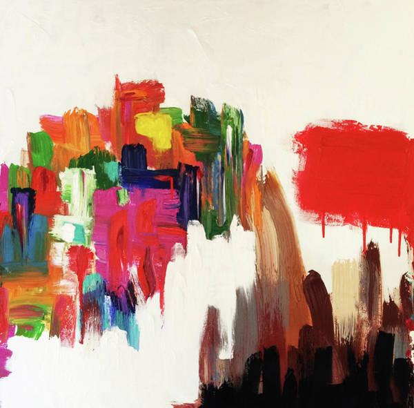 Decorative Wall Art - Painting - Mid Scene by Mac Worthington