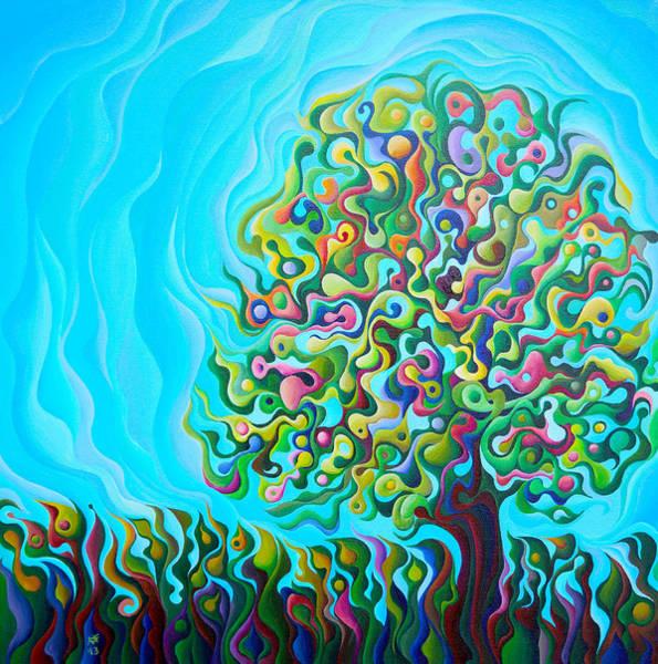 Painting - Mid-summer Tree Breath by Amy Ferrari