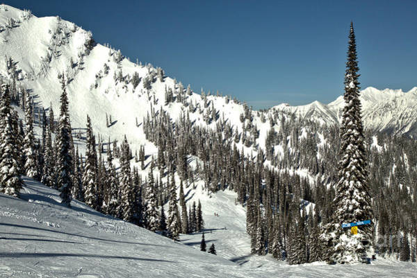 Photograph - Mid Winter On The Fernie Slopes by Adam Jewell
