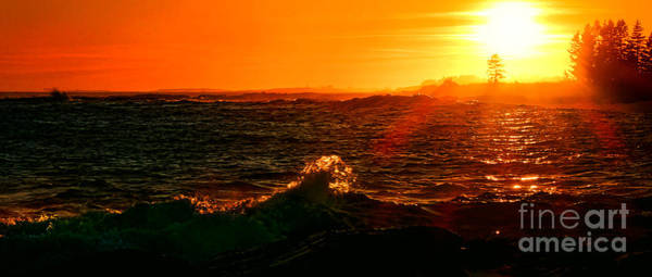 Photograph - Midcoast Maine Sunset by Olivier Le Queinec
