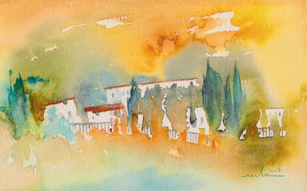 Paysage Wall Art - Painting - Midday 07 by Miki De Goodaboom