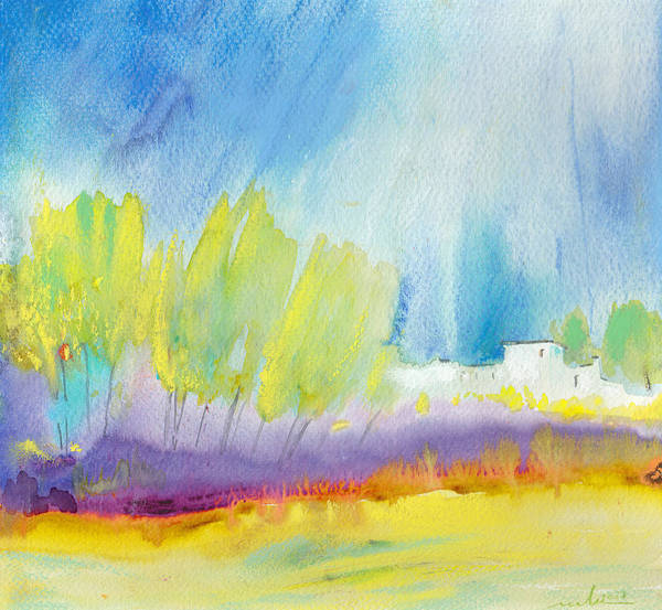 Paysage Wall Art - Painting - Midday 08 by Miki De Goodaboom