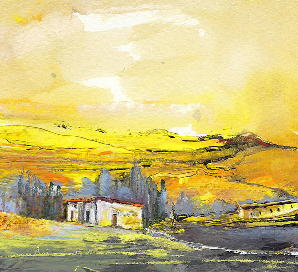 Paysage Wall Art - Painting - Midday 10 by Miki De Goodaboom