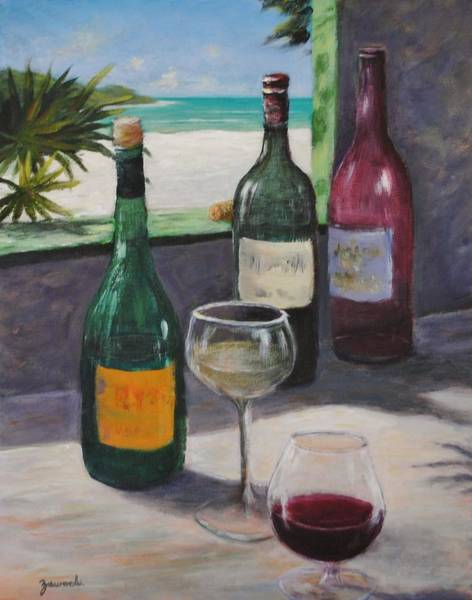 Painting - Midday Wine by Alan Zawacki