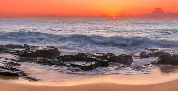Photograph - Middle Beach Sunrise by Racheal Christian
