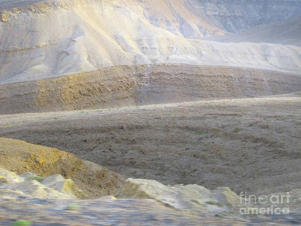 Photograph - Middle East Terrain by Donna L Munro
