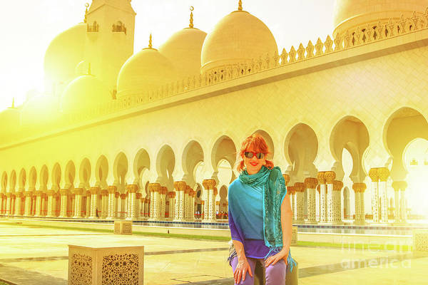 Photograph - Middle East Tourism Concept by Benny Marty