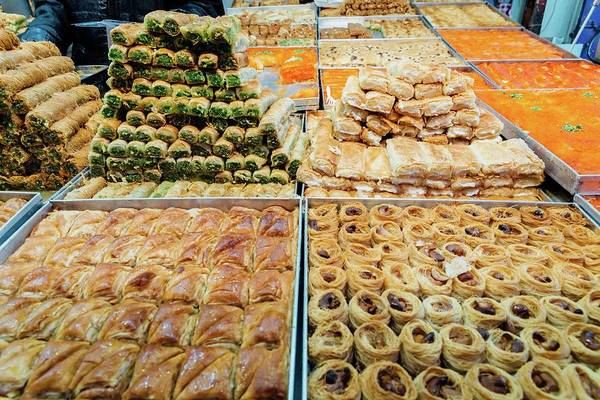 Photograph - Middle Eastern Sweets by Alexandre Rotenberg