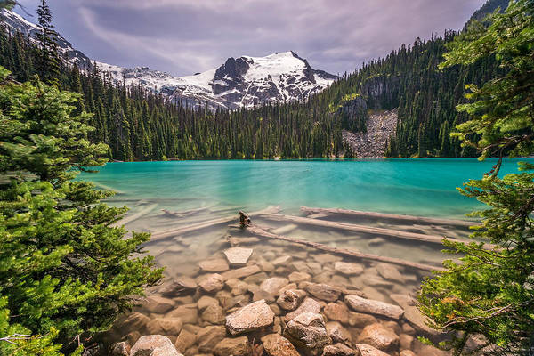 Photograph - Middle Joffre Lake  by Pierre Leclerc Photography