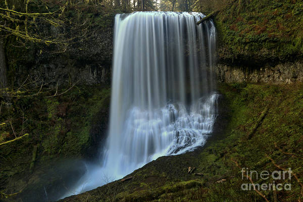 Photograph - Middle North Falls Landscape by Adam Jewell