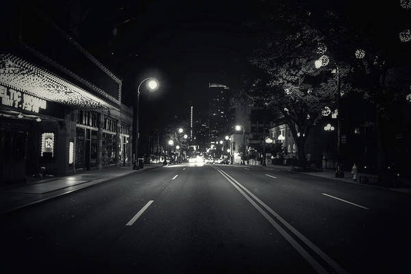 Photograph - Middle Of The Road by Mike Dunn