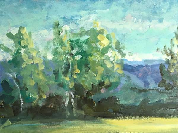 Wall Art - Painting - Middle Tennessee by Susan Elizabeth Jones