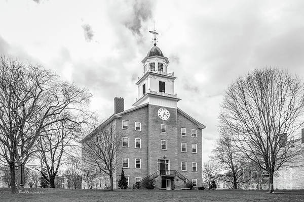 Wall Art - Photograph - Middlebury College Old Chapel by University Icons