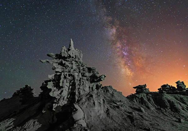Photograph - Midnight At Fantasy Canyon. by Johnny Adolphson