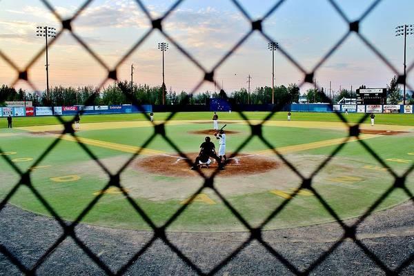 Wall Art - Photograph - Midnight Baseball by Benjamin Yeager