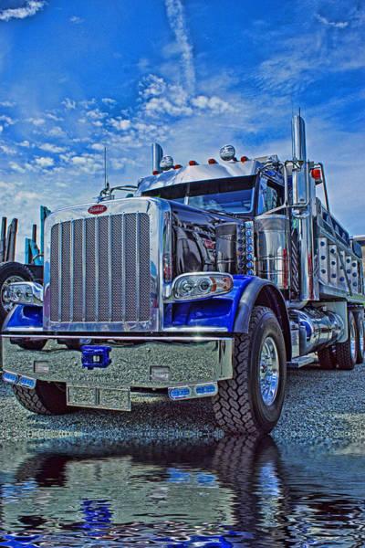 Peterbilt Photograph - Midnight Blue by Randy Harris