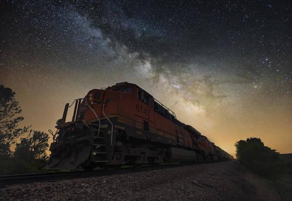 Photograph - Midnight Express by Aaron J Groen