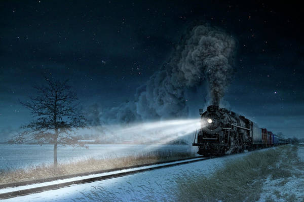 Marquette Photograph - Midnight Express by Pat Eisenberger
