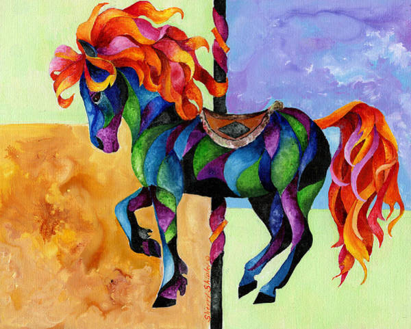 Painting - Midnight Fire by Sherry Shipley