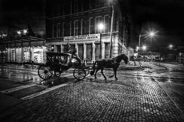 Wall Art - Photograph - Midnight In Galveston by Linda Unger