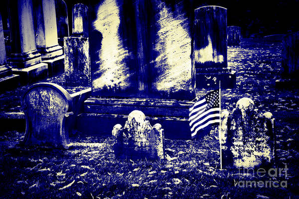 Photograph - Midnight In The Land Of The Dead by Paul W Faust - Impressions of Light