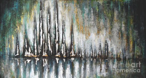 Painting - Midnight Opens Up by Kaata Mrachek