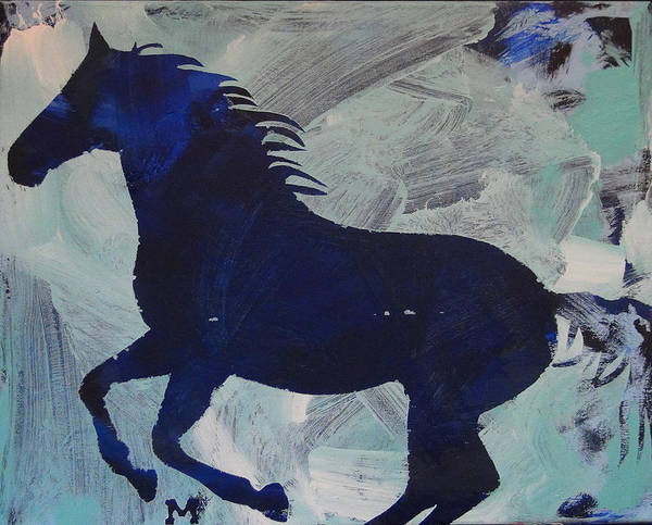 Painting - Midnight by Candace Shrope