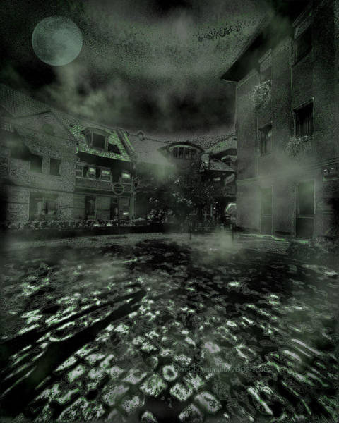 Ghoul Digital Art - Midnight Ramblings by Mimulux patricia No