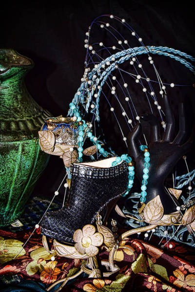 Beading Photograph - Midnight Rendezvous by Camille Lopez