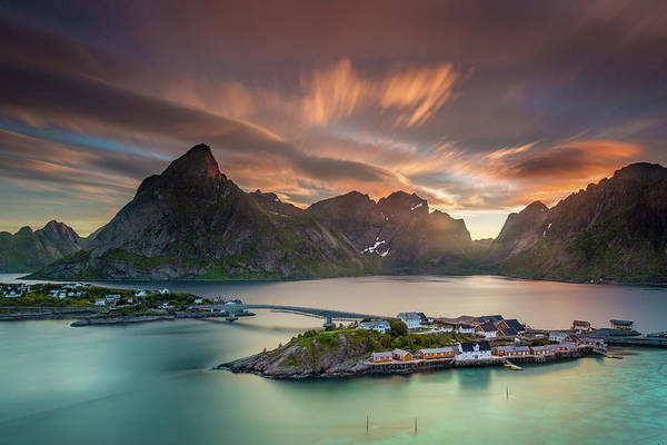 Photograph - Midnight Sun Galore by Alex Conu