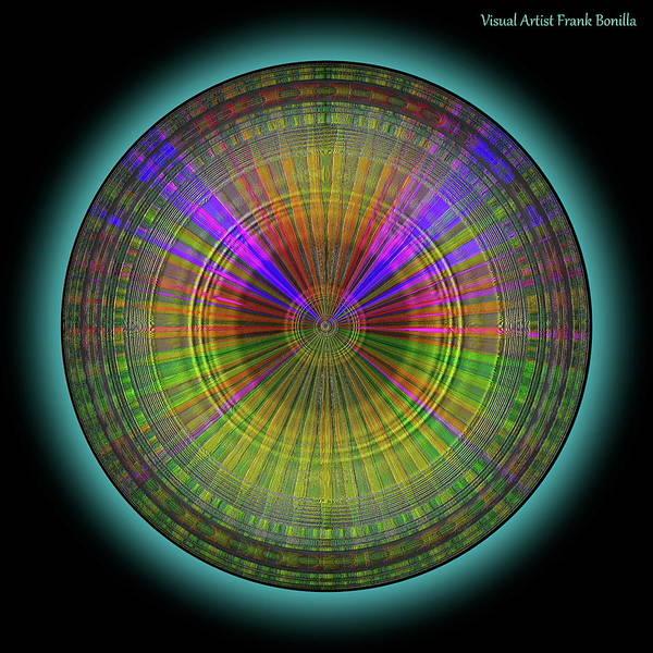 Digital Art - Midnight Sunset by Visual Artist Frank Bonilla