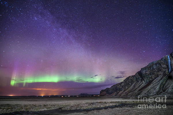 Northern Photograph - Midnight Symphony by Evelina Kremsdorf