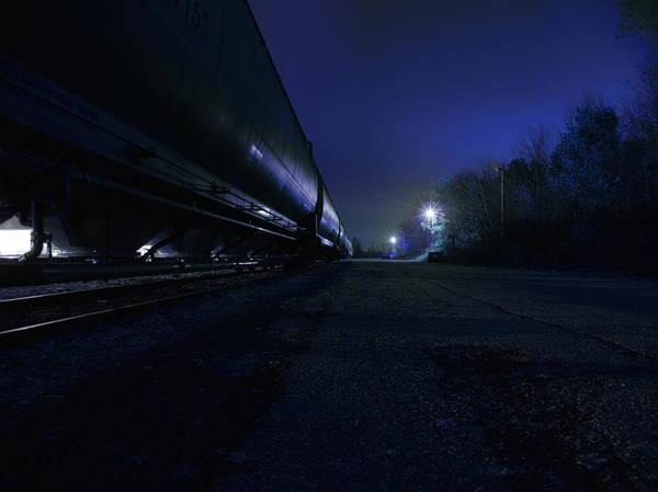 Photograph - Midnight Train 1 by Scott Hovind
