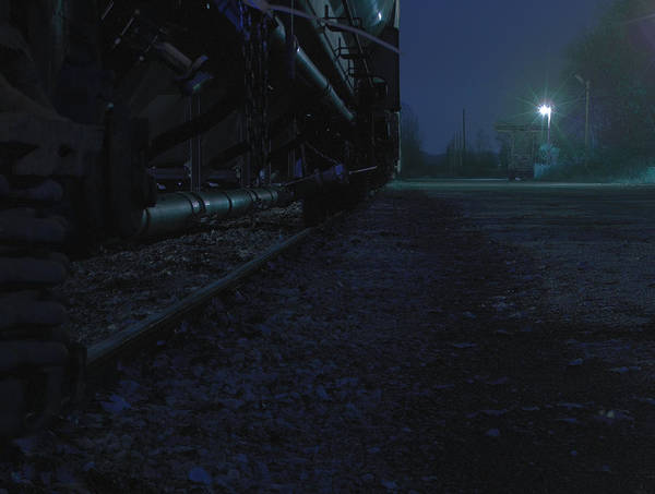 Photograph - Midnight Train 2 by Scott Hovind