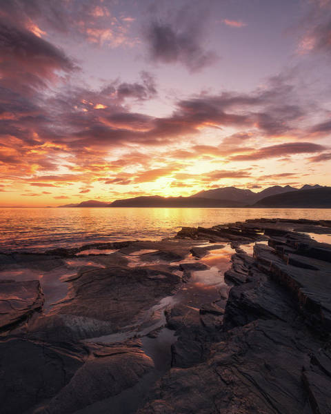 Sunset Colors Photograph - Midnightsun Madness by Tor-Ivar Naess