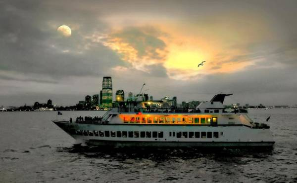 Aft Photograph - Set Sail Manhattan by Diana Angstadt