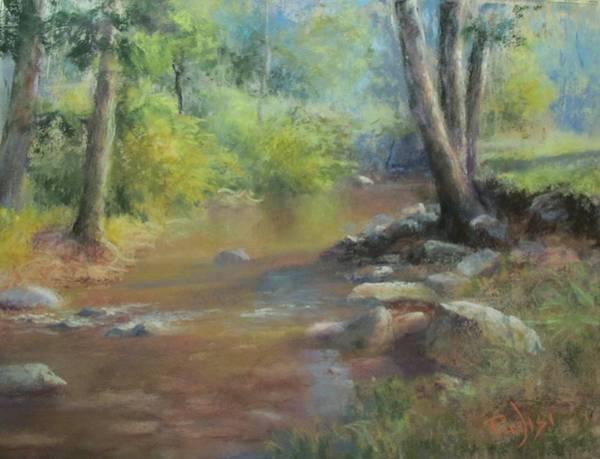 Pastel - Midsummer Day's Stream by Bill Puglisi