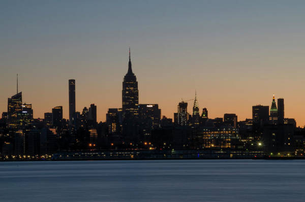 Wall Art - Photograph - Midtown At Sunrise - The Empire State Building by Bill Cannon